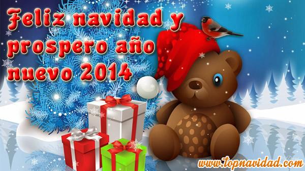 Frases de Feliz Navidad y Prospero Año Nuevo 2014