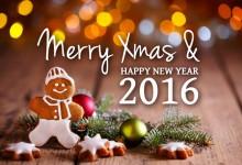 Imágenes con Frases de Merry Christmas y Año Nuevo 2017