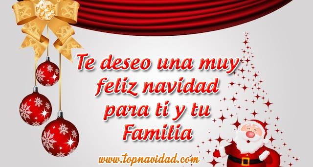 Frases de Navidad con Buenos Deseos para la Familia