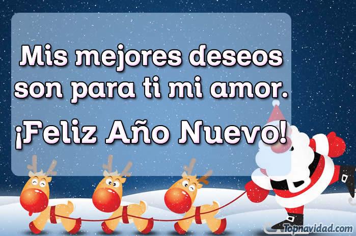 Felicitaciones de amor para Año Nuevo
