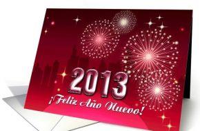 Tarjetas de Año Nuevo para el 2013