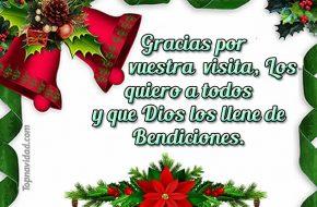 Frases Cortas para Agradecer en Navidad