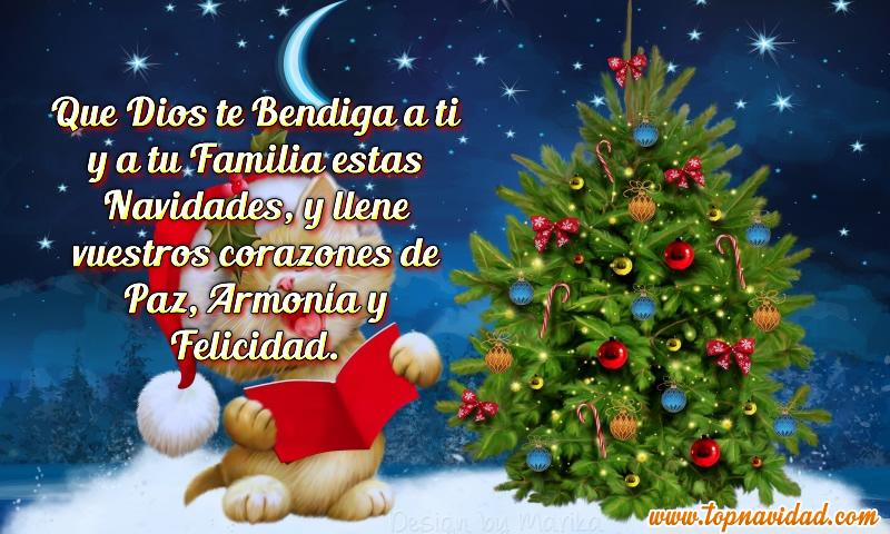 Frases y tarjetas de navidad para tel fono celular o - Frases de navidad 2017 ...