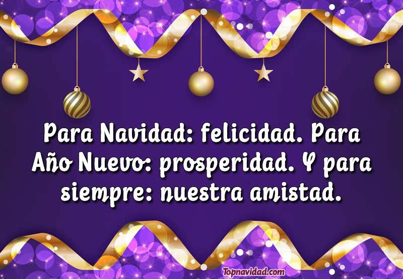 Hermosas felicitaciones de navidad y año nuevo