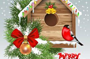 Imágenes y Tarjetas Postales de Navidad y Año Nuevo 2018
