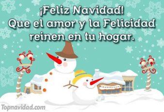 Imágenes con Frases Cortas de Feliz Navidad