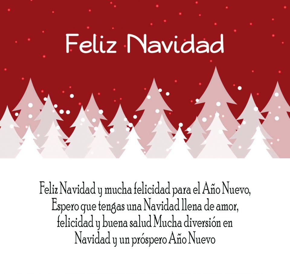 Imágenes con Frases cortas de navidad y año nuevo