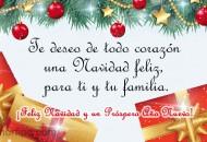 Mensajes con Frases de Feliz Navidad para Compartir