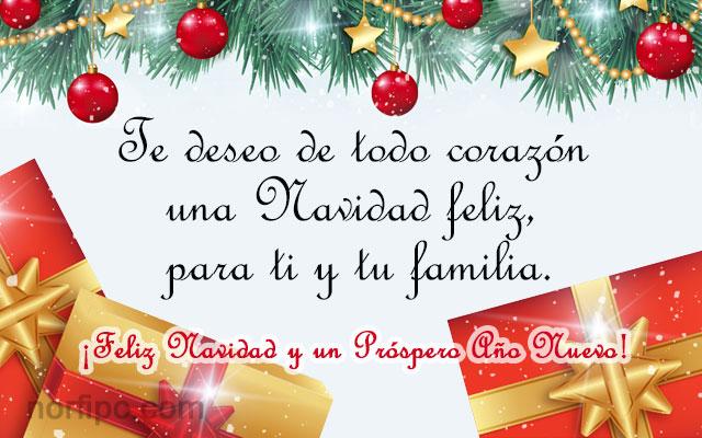 Imágenes con Mensajes de Feliz navidad Gratis