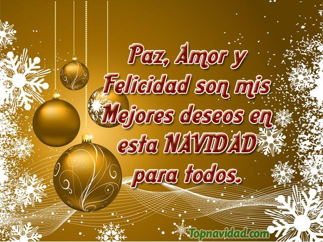 Imágenes con Mensajes de Paz y Amor para Navidad