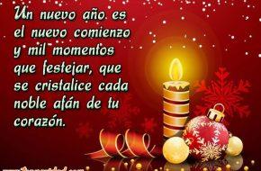 Frases de Año Nuevo para brindar en Noche Buena