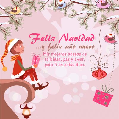 Imágenes con frases para felicitar en navidad