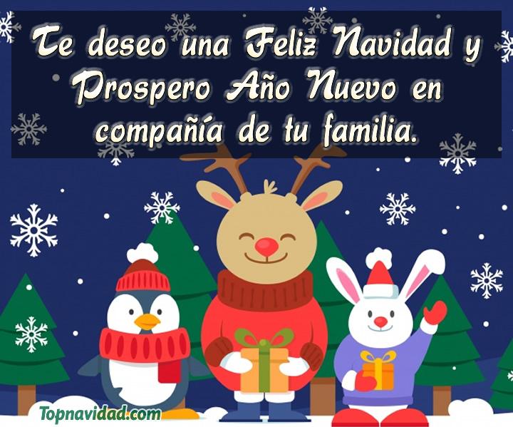 Imágenes de Feliz Navidad y Prospero Año Nuevo
