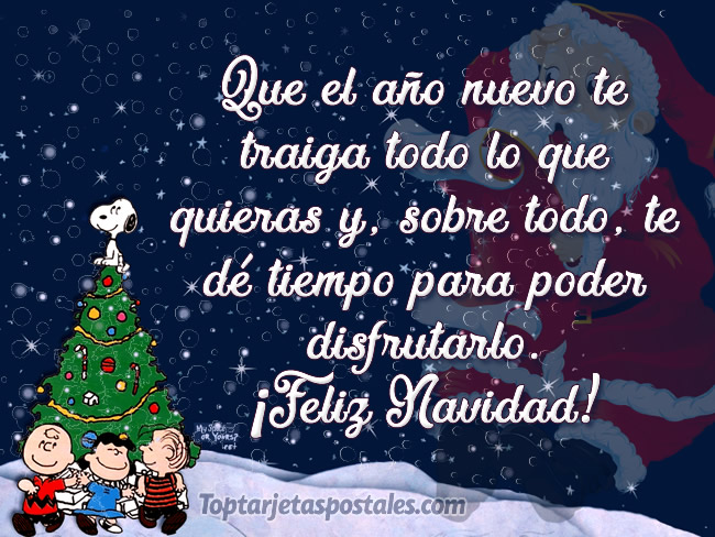 Tarjetas y frases bonitas de feliz navidad y a o nuevo - Felicitaciones cortas de navidad y ano nuevo ...