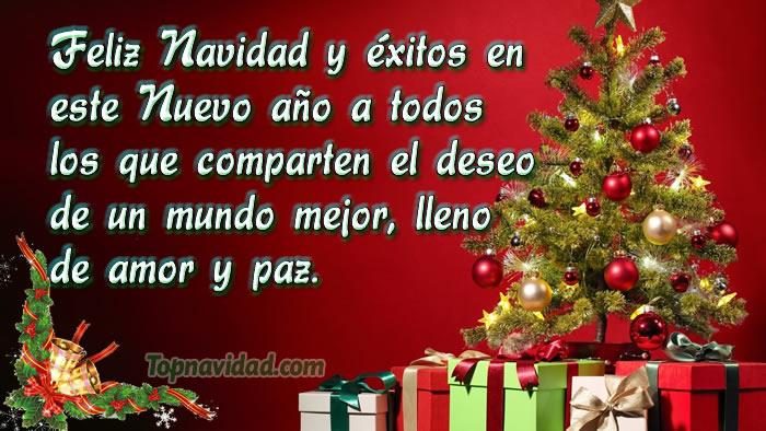 Im genes y tarjetas de navidad con frases para felicitar - Mensajes bonitos de navidad y ano nuevo ...