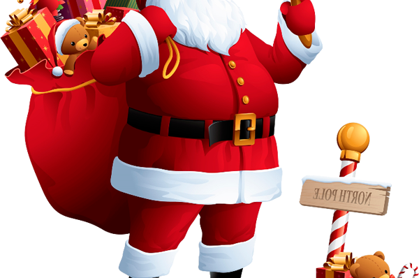 Imágenes de papa noel para Navidad