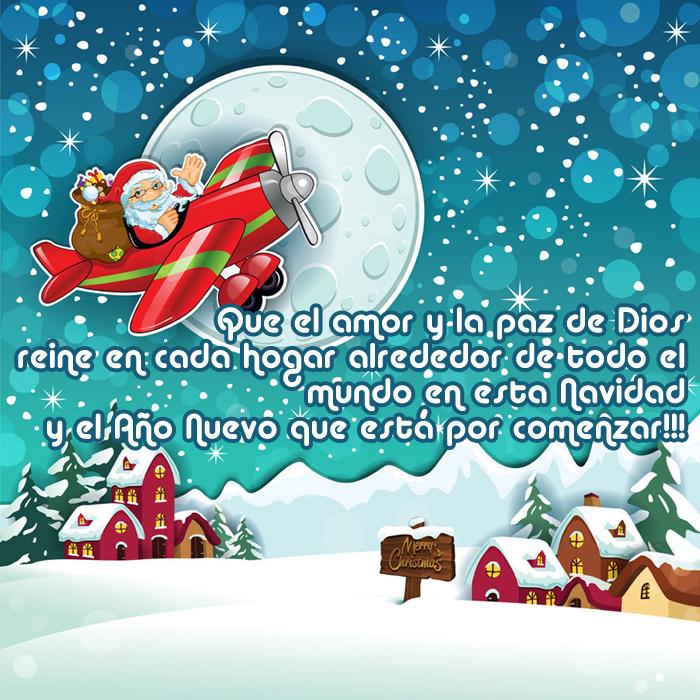 Imágenes de navidad con frases de feliz navidad