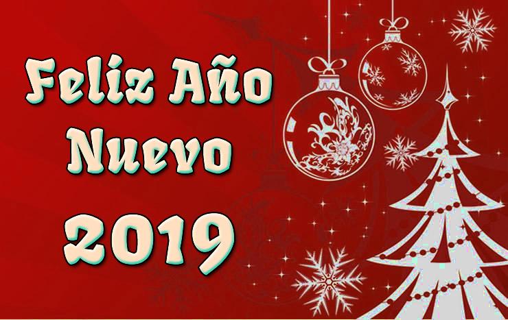 Imágenes para felicitar Año Nuevo 2019