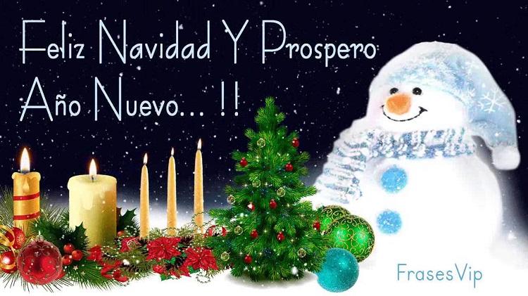 Tarjetas de feliz navidad y prospero a o nuevo 2018 para - Frases de feliz navidad y prospero ano nuevo ...