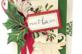 Imágenes Lindas de Tarjetas de Navidad Echas a Mano