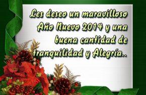 Imagenes con Felicitaciones de Año Nuevo 2014