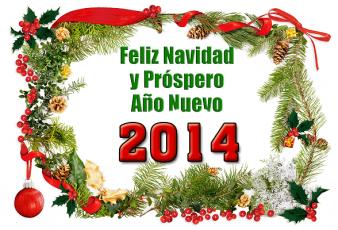 Imagenes con Frases de Feliz Navidad y Prospero Año Nuevo 2014