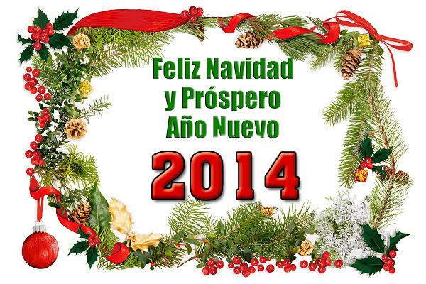 Imagenes de feliz navidad y prospero a o nuevo 2014 - Frases de feliz navidad y prospero ano nuevo ...