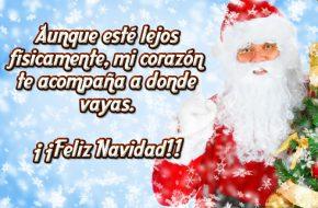 Tarjetas de Papá Noel para Felicitar en Navidad