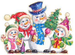 Imagenes de Muñecos de Nieve para Navidad