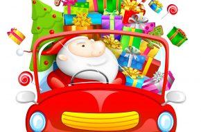 Imagenes navideños: Papa Noel con Regalos