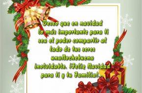 Imagenes de Navidad con Bonitas Frases de Felicitaciones