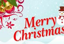 Imágenes con Frases de Merry Christmas y Año Nuevo 2018