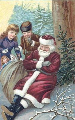 Imagenes de santa de navidad