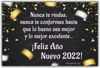 Imágenes para felicitar año nuevo 2022