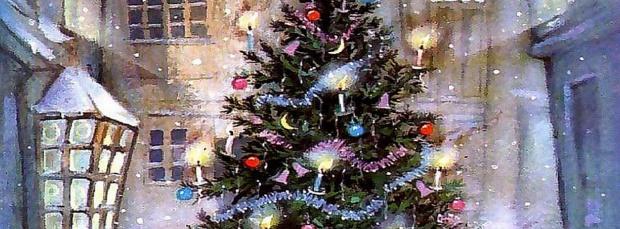 Lindo portada de navidad para facebook