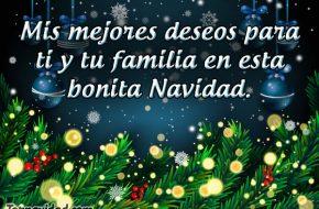 Felicitaciones y Frases de Navidad para la Familia y Amigos