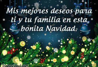 Los mejores deseos para Navidad