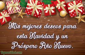Mejores deseos para Navidad y Año Nuevo 2019