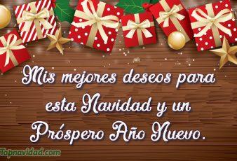 Mejores deseos para Navidad y Año Nuevo