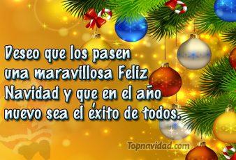 Mensajes cortos de feliz navidad para felicitar