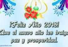 Felicitaciones de Año Nuevo 2018 Gratis