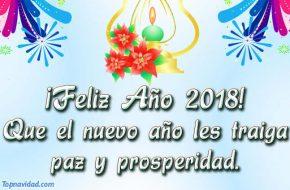 Mensajes de feliz año nuevo 2018