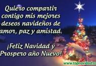 Mensajes de navidad y año nuevo para Compartir