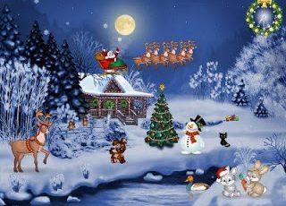 Paisajes de Navidad hermosos