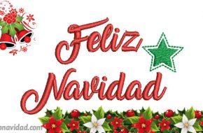 Imágenes de Bordado Feliz Navidad para enviar