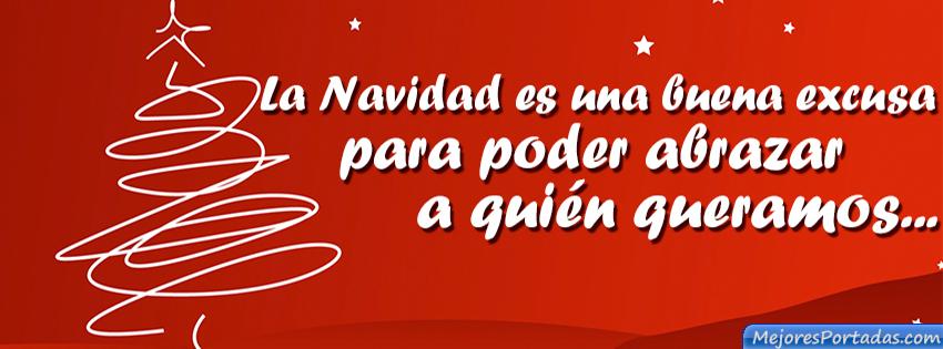 Portada con frases de Navidad para facebook