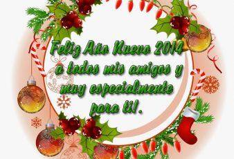 Postales de Año Nuevo 2014 Para Felicitar