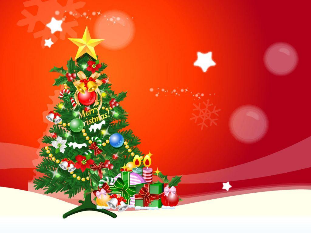 Postales de Arbol de Navidad