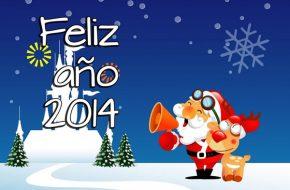 Postales de Feliz Año Nuevo 2014