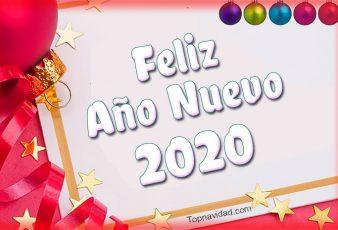 Postales de Feliz Año Nuevo 2020 GRATIS